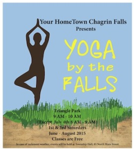 Yoga by the Falls @ Triangle Park | Chagrin Falls | Ohio | United States